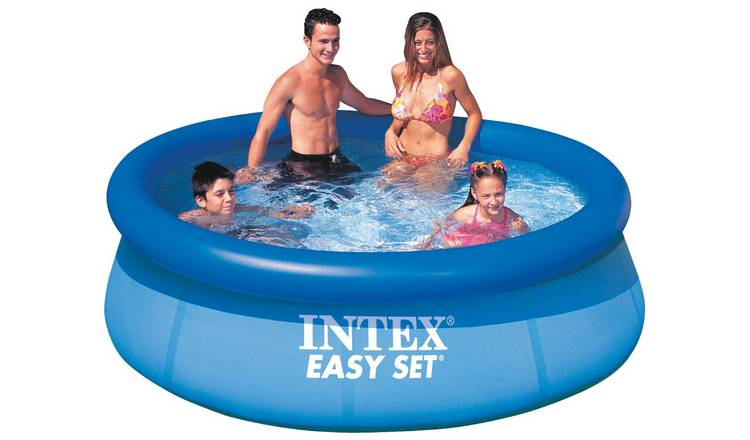 Intex 8ft Easy Set Round Family Pool - 2242L