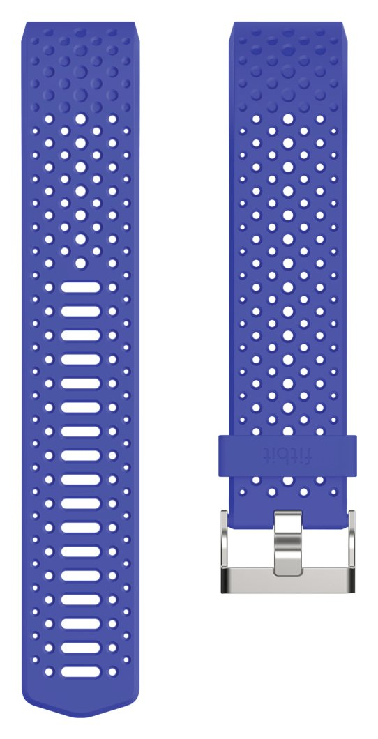 Image of Fitbit Charge 2 Sports Blue Accessory Wristband - Large