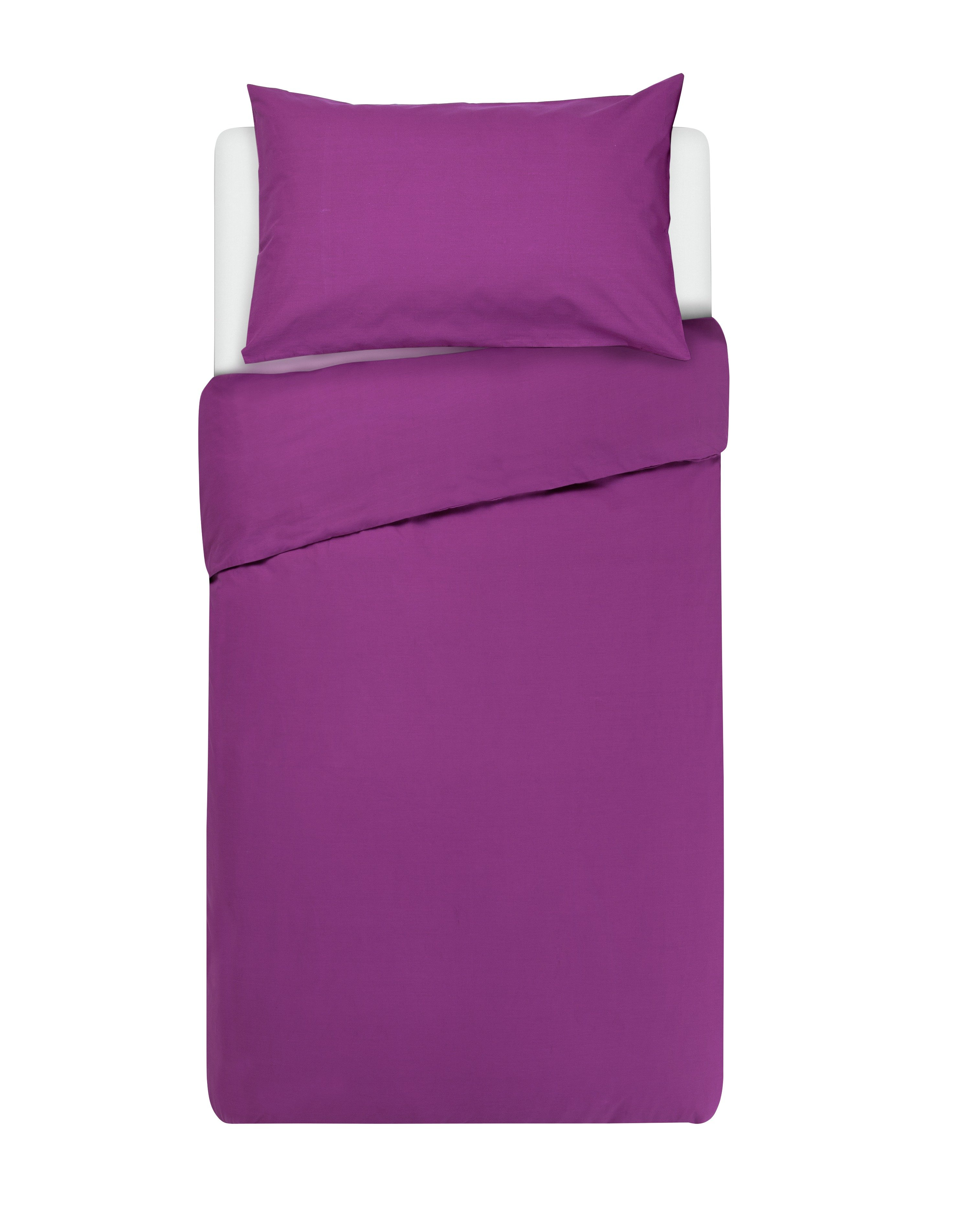 colourmatch grape bedding set  single