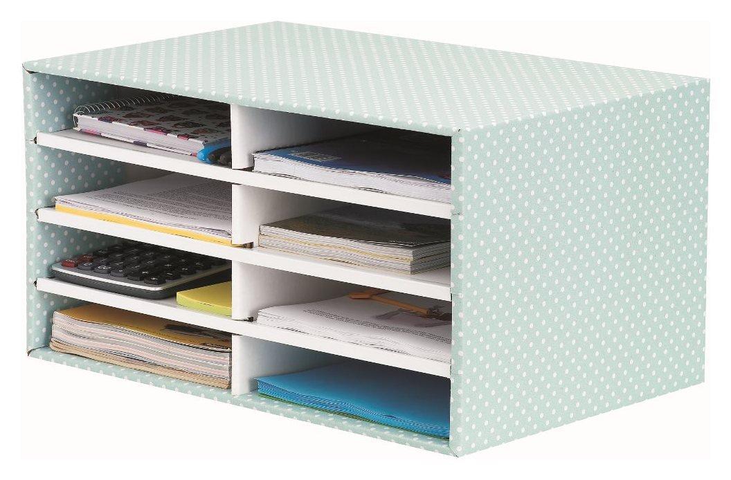 Image of Fellowes Bankers Box Style Desktop Sorter - Green.
