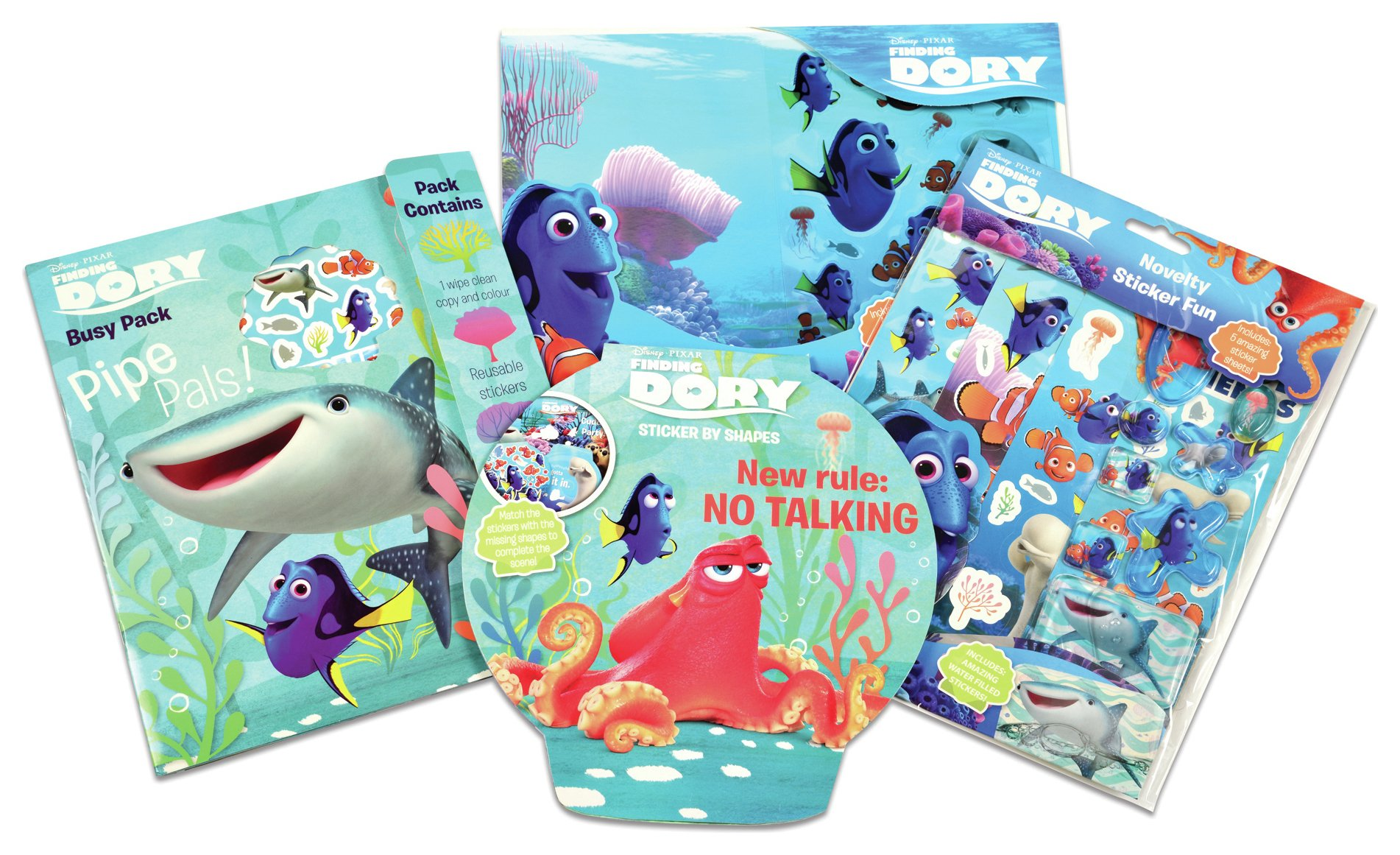 Image of Disney - Pixar Finding Dory Bundle Pack Novel Sticker