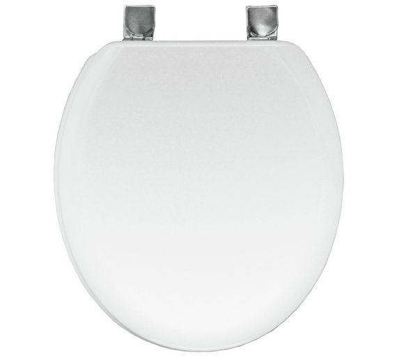 uk toilet seat sizes. Bemis Chicago Statite Toilet Seat  White Buy at Argos co uk