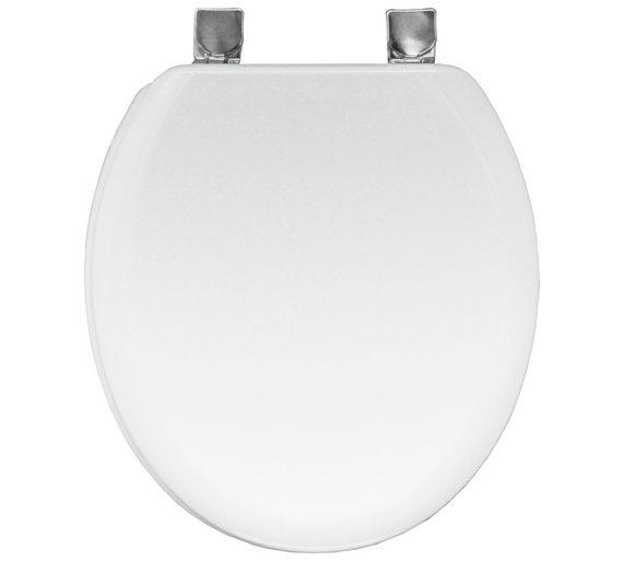 Buy Bemis Chicago Statite Toilet Seat White At Argoscouk - Bemis white toilet seat