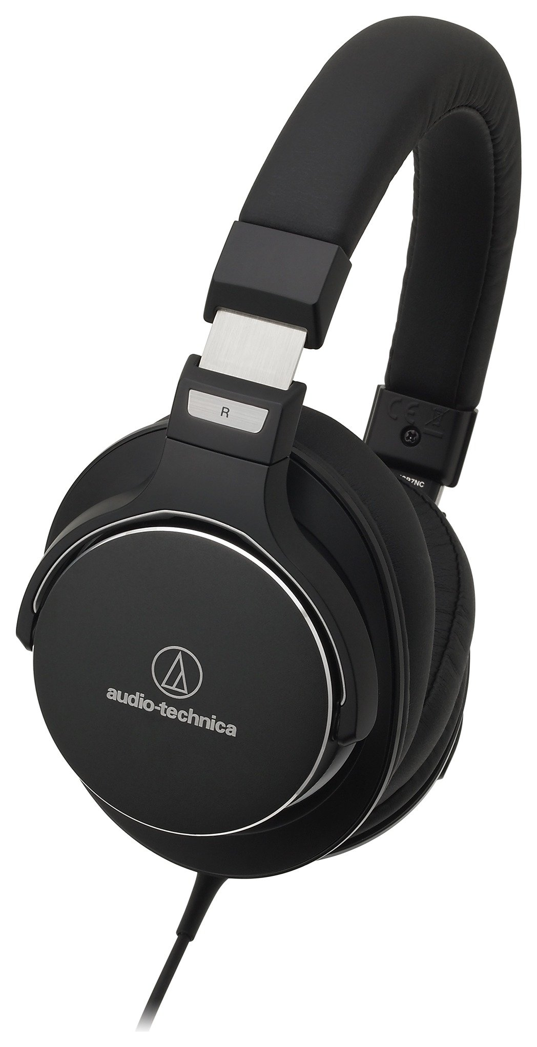 Image of Audio Technica ANC On-Ear Headphones - Black.