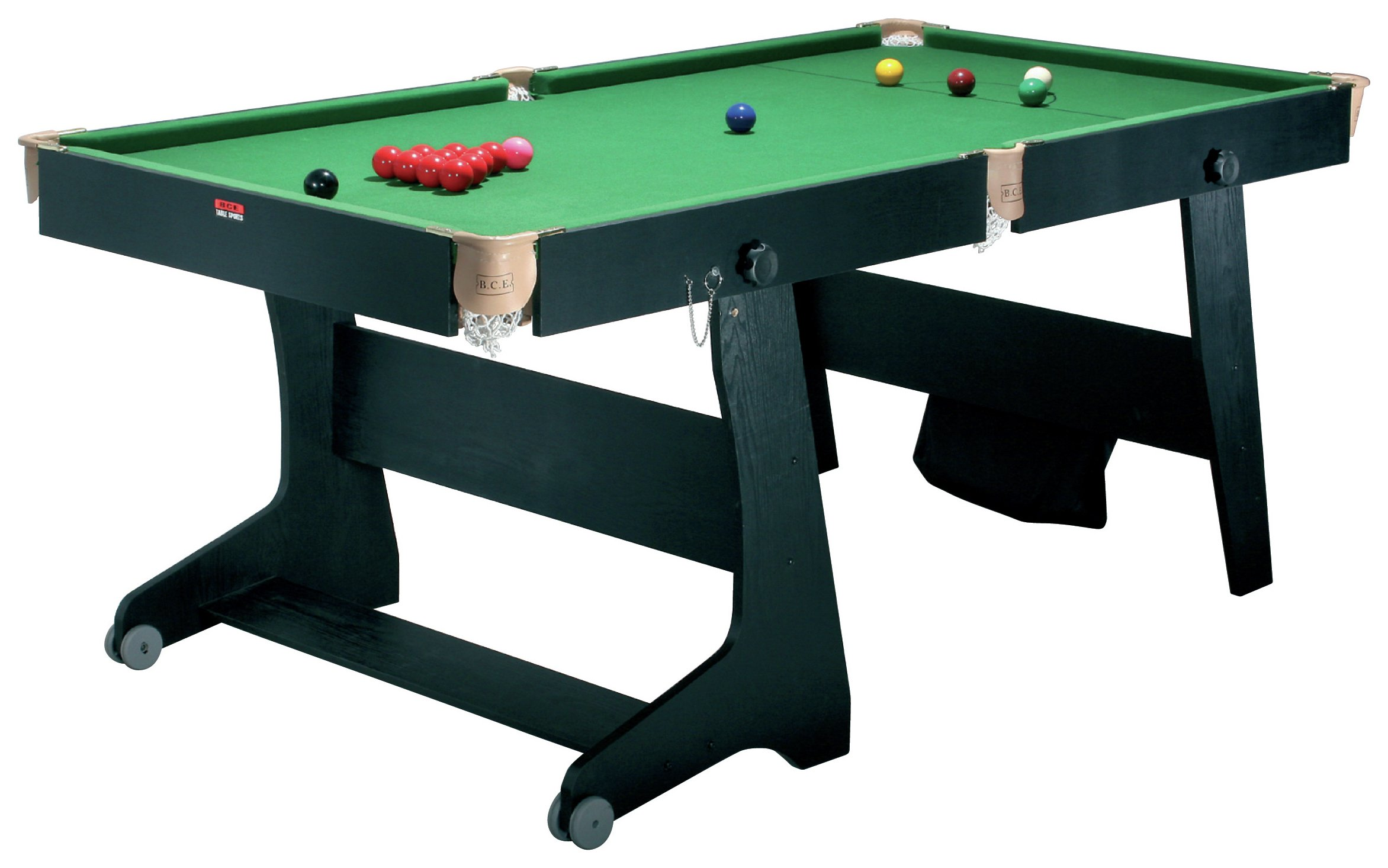 'Riley - 6ft Folding Snooker And Pool Table