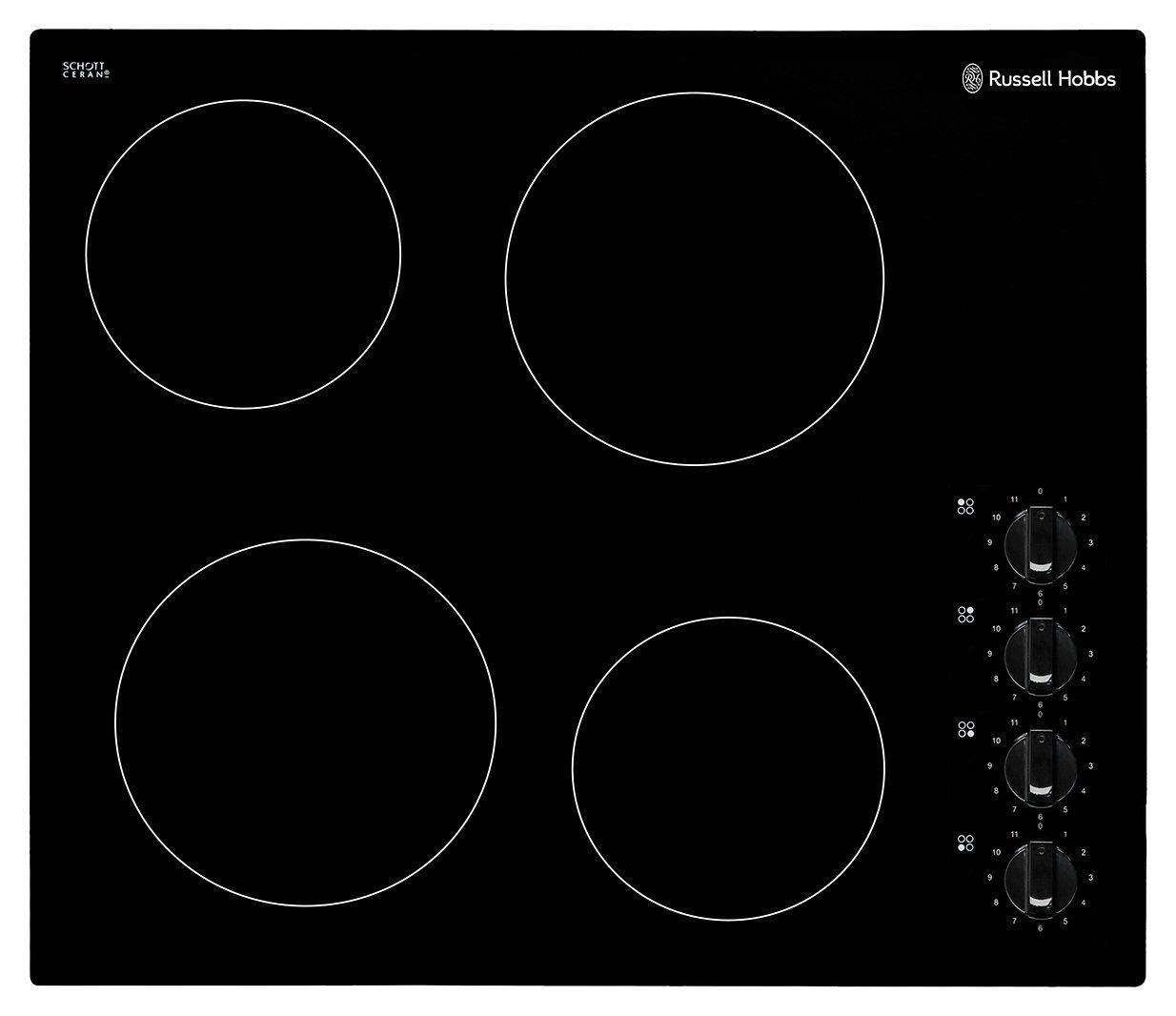 Russell Hobbs RH60EH502B Electric Ceramic Hob - Black