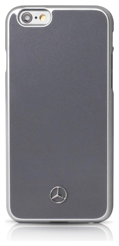 Mercedes iPhone 6/6S metalic case - Grey.