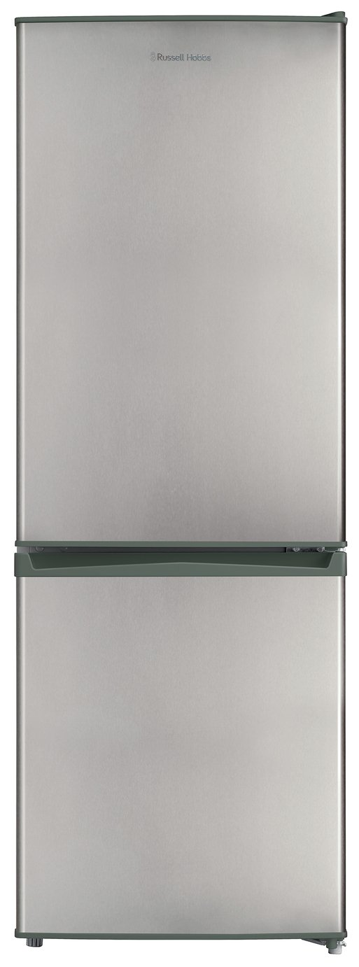 Russell Hobbs RH50FF144SS Fridge Freezer - Silver Best Price, Cheapest Prices