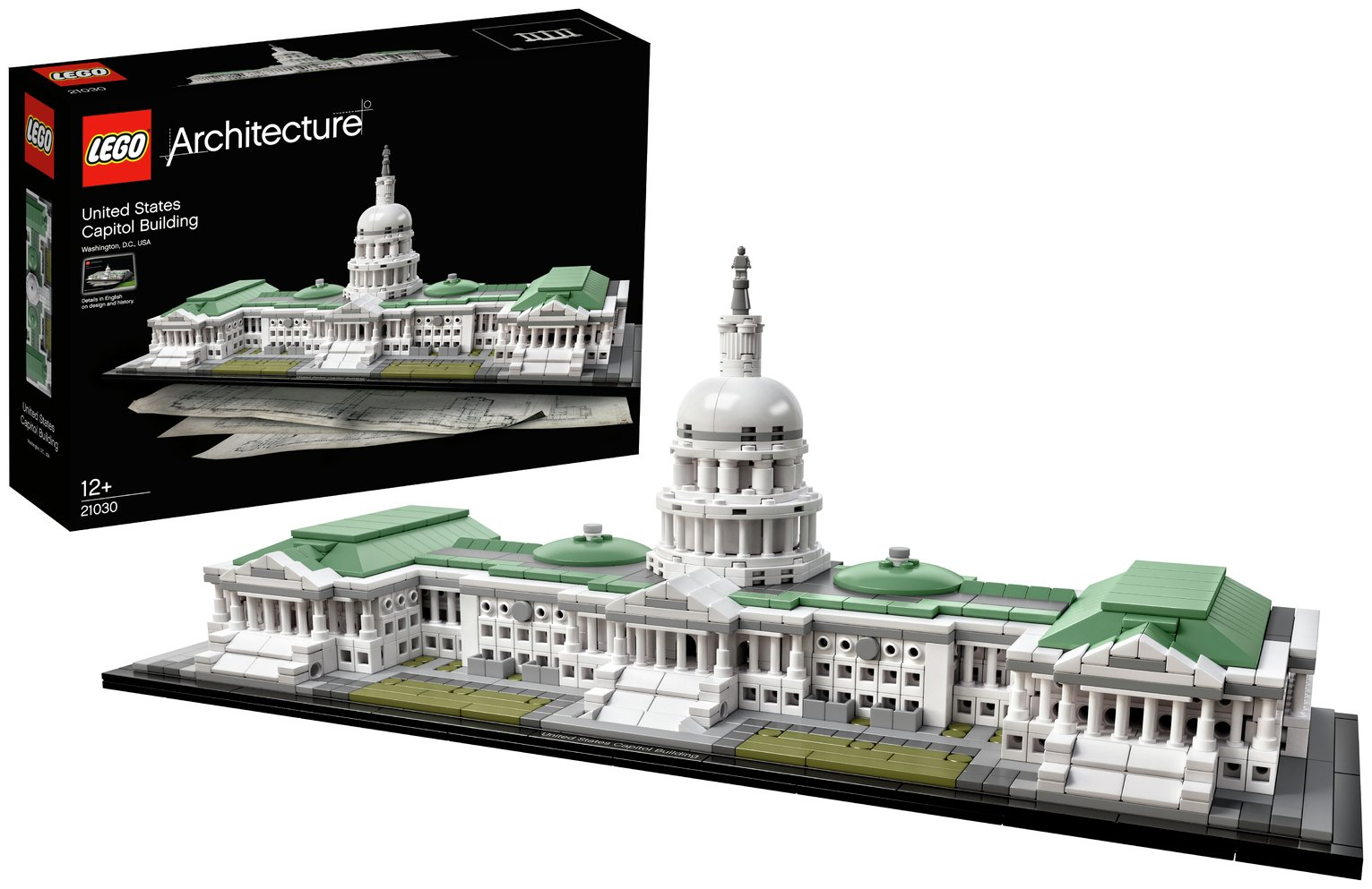 Buy LEGO Architecture United States Capitol Building Set | LEGO | Argos