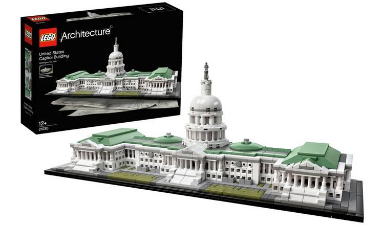 Lego Architecture United States Capitol Building 21030 Kids Construction Set Toy Lego Baukasten Sets Gamersjo Com