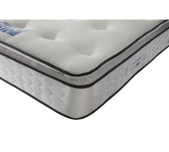 Buy Sealy 1400 Pocket Sprung Pillowtop Memory Kingsize Mattress