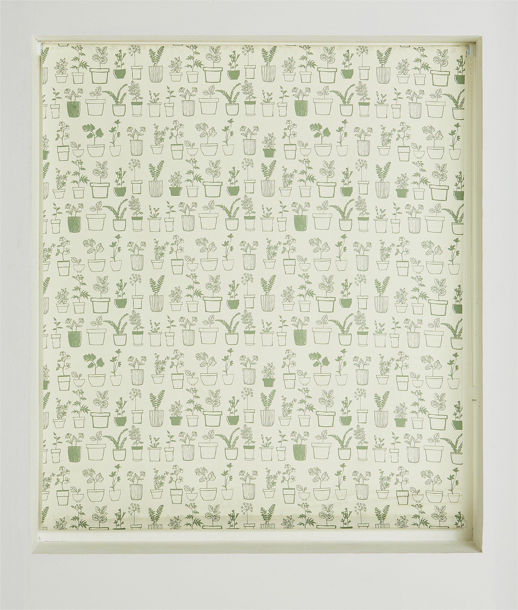HOME Potted Plants Daylight Roller Blind - 6ft