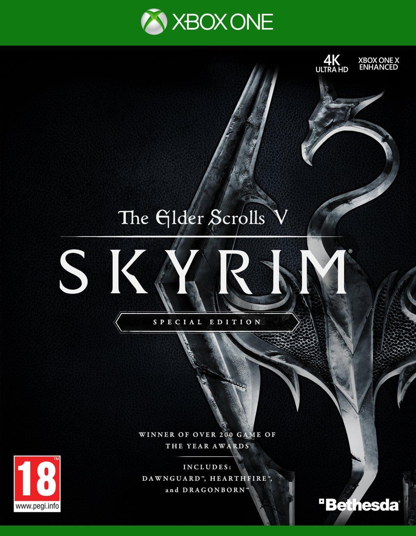 Image of Elder Scrolls V: Skyrim Remastered Xbox One Game.