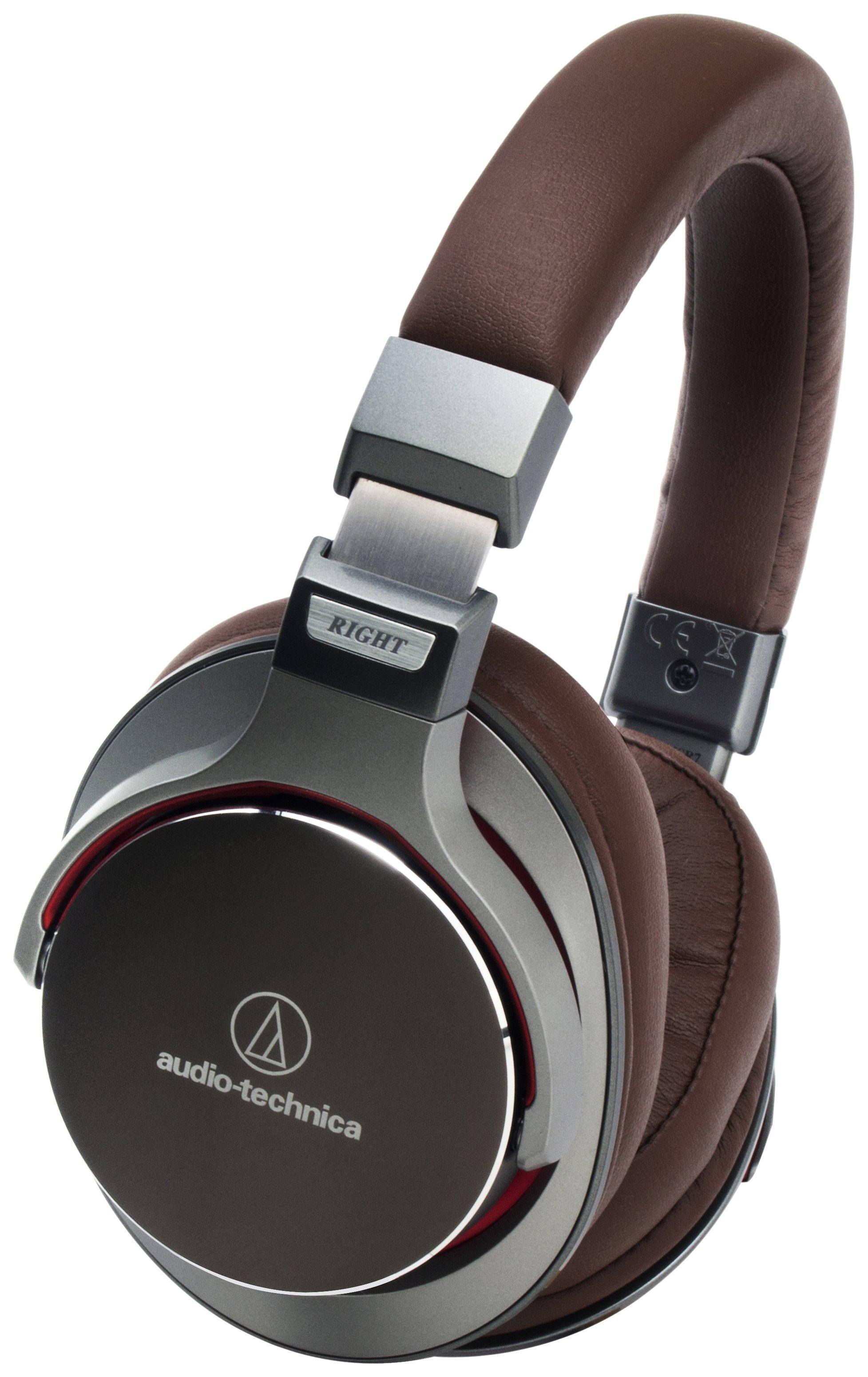 Image of Audio Technica ATH-MSR7GM On-Ear Headphones - Gunmetal Grey.