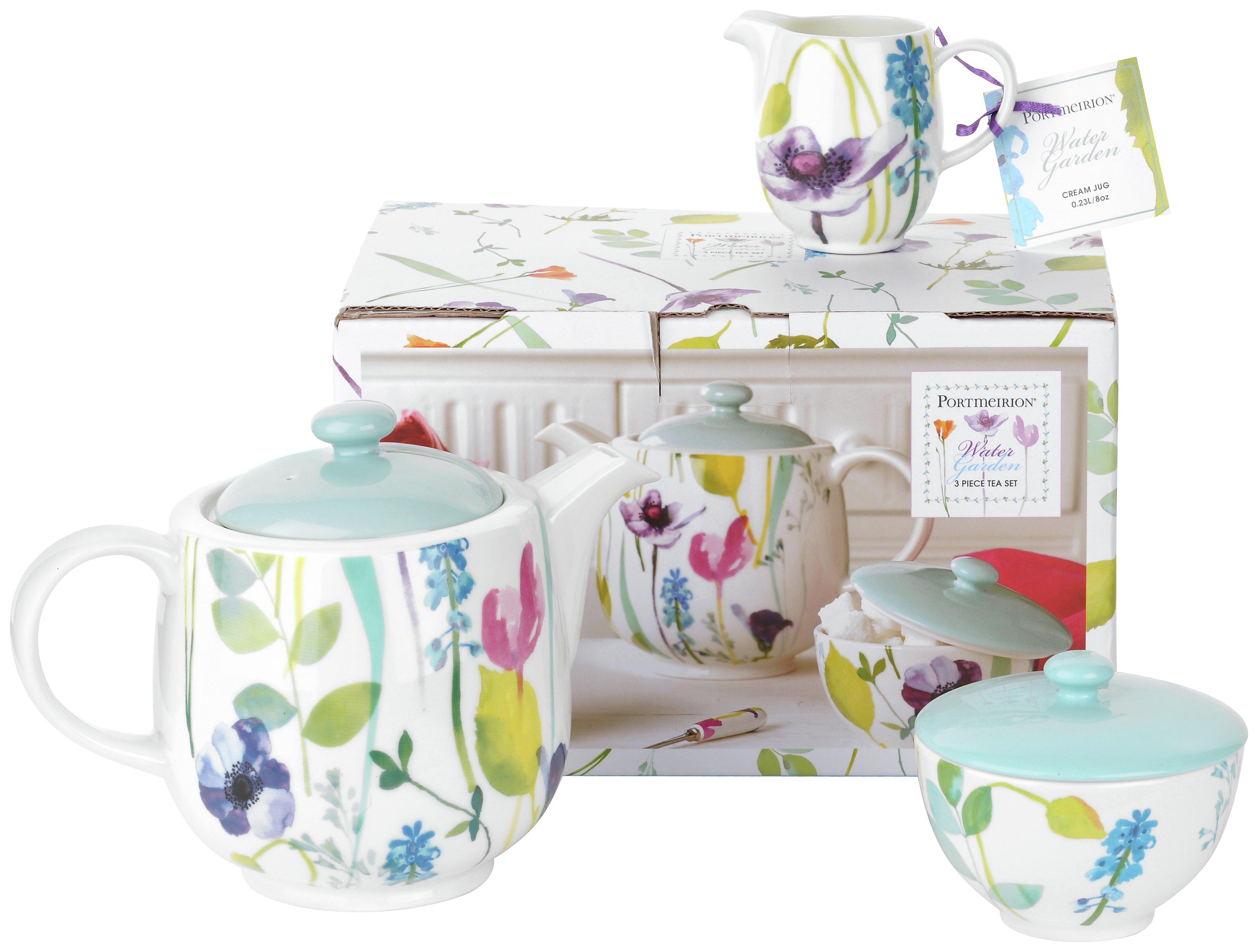 Buy Portmeirion Water Garden Teapot Set at Argoscouk Your