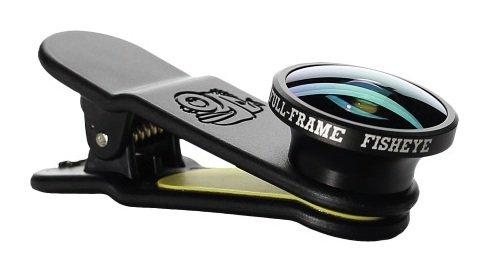Image of Black Eye - Mobile Phone - Full Frame Fish - Eye - Lens