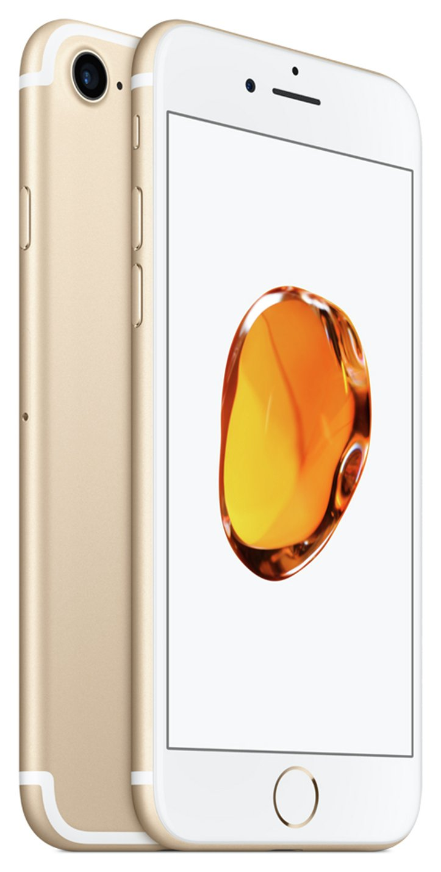 Apple Sim Free iPhone 7 256GB Mobile Phone - Gold.