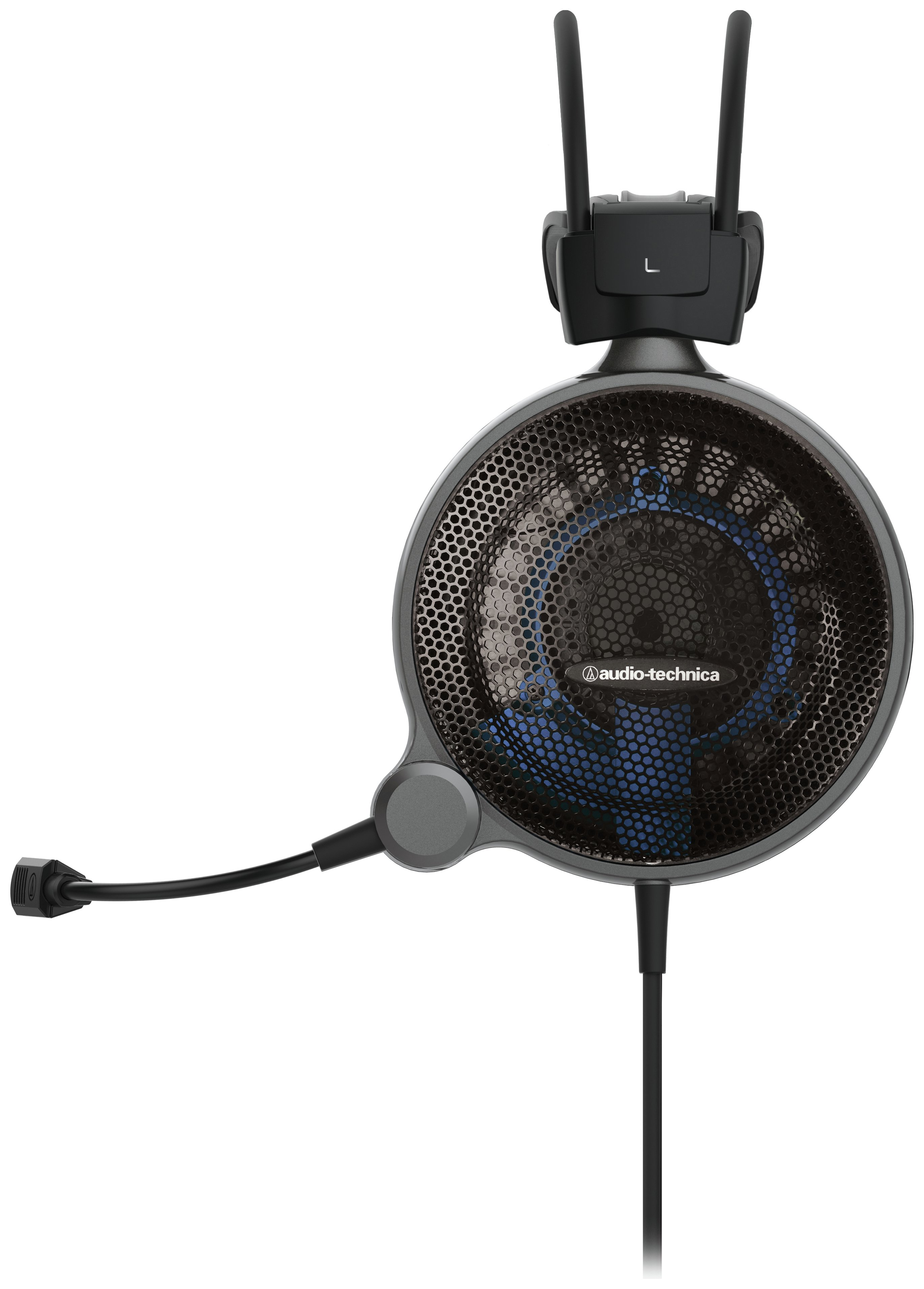 Image of Audio Technica ATH-ADG1X Gaming Headset - Black/Blue.