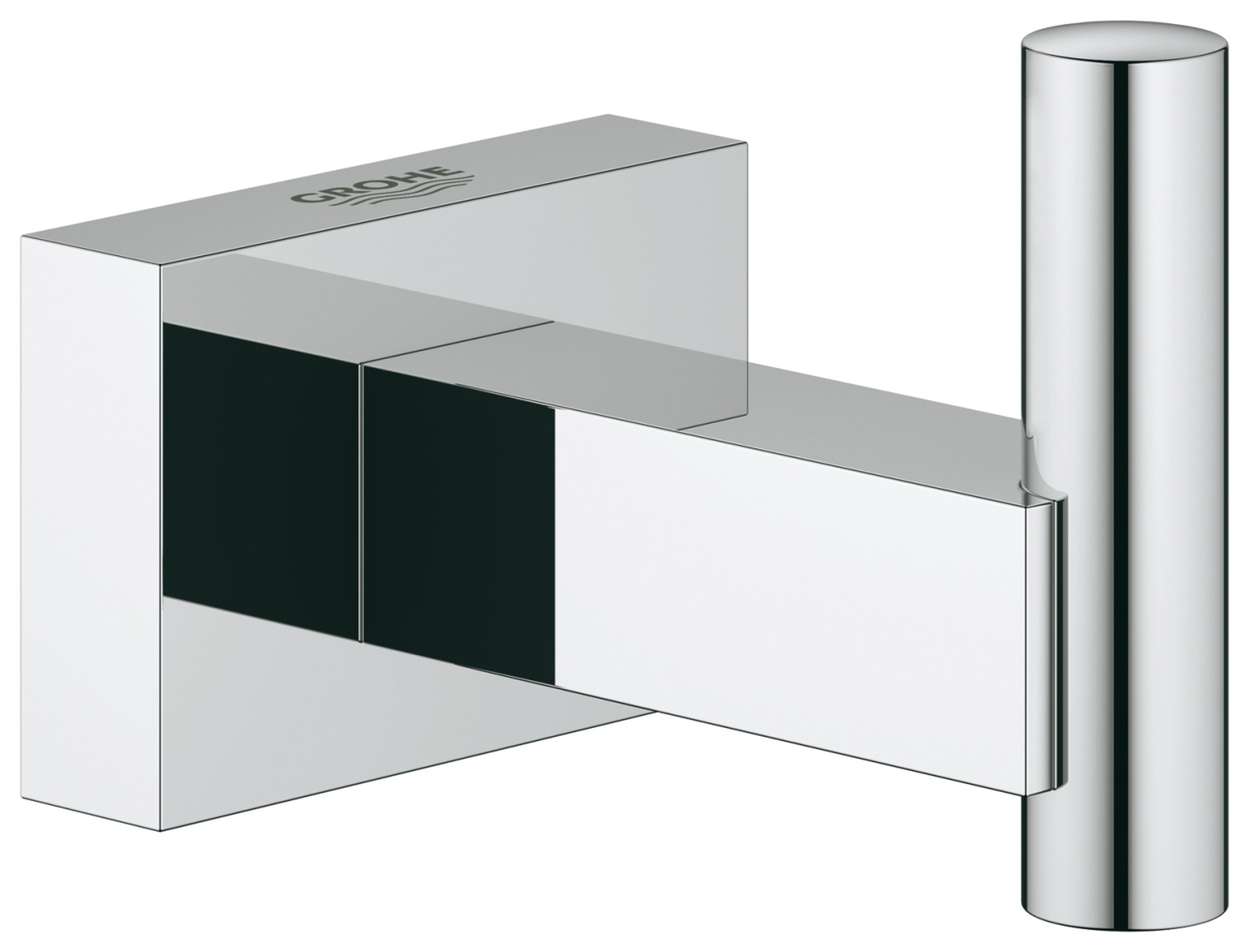 Image of Grohe Essentials - Cube Robe Hook