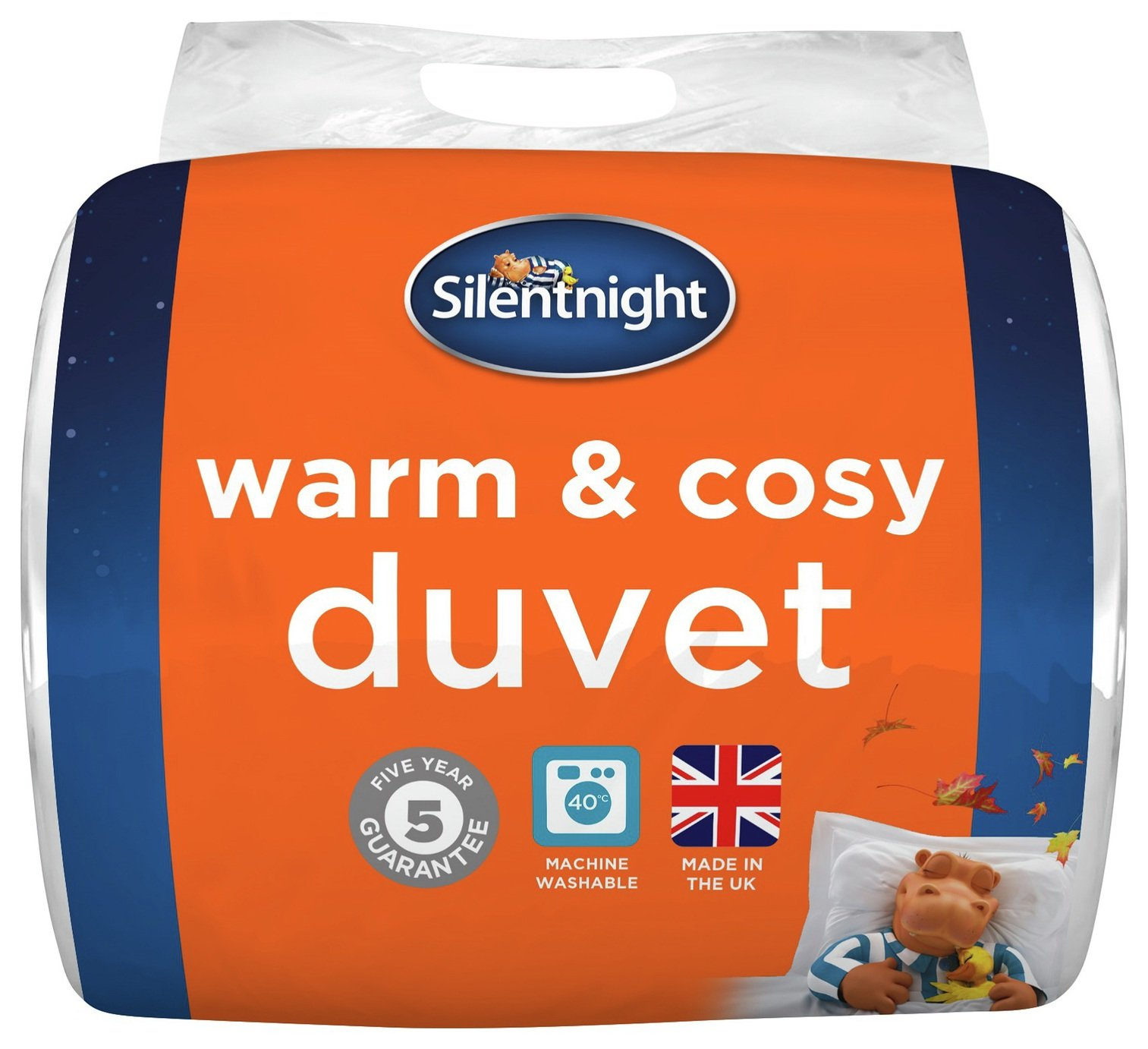 silentnight warm and cosy 15 tog duvet  single.