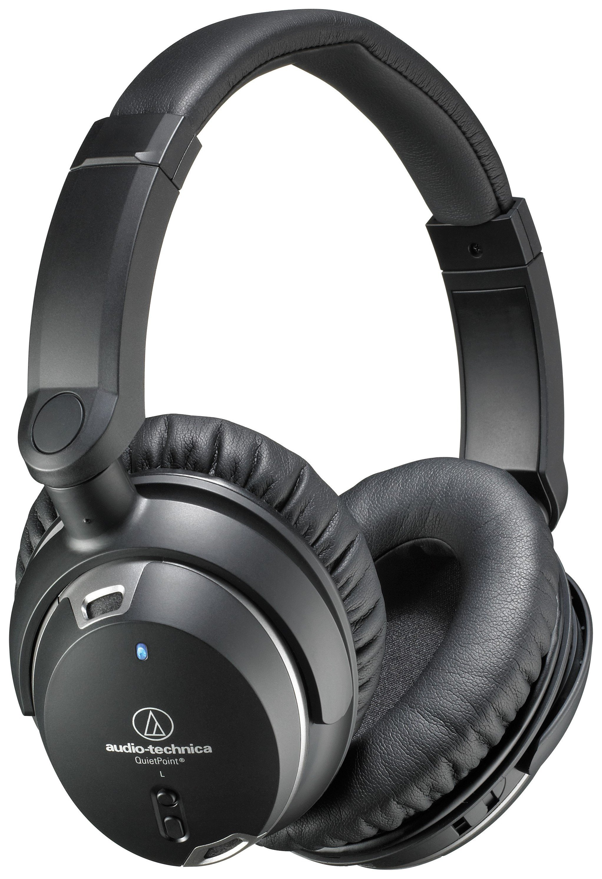 Audio Technica Audio Technica ATH-ANC9 On-Ear Headphones - Black.