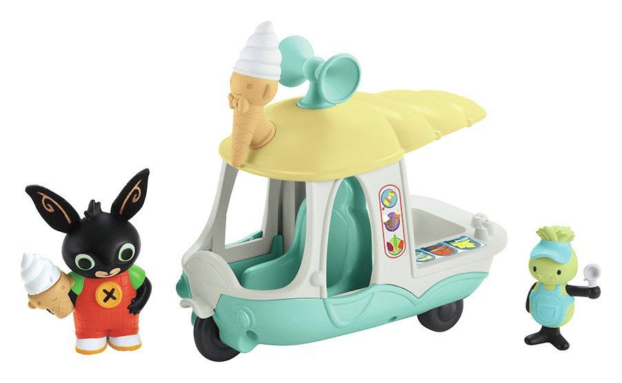 Image of Bing Gilly's Ice Cream Van.