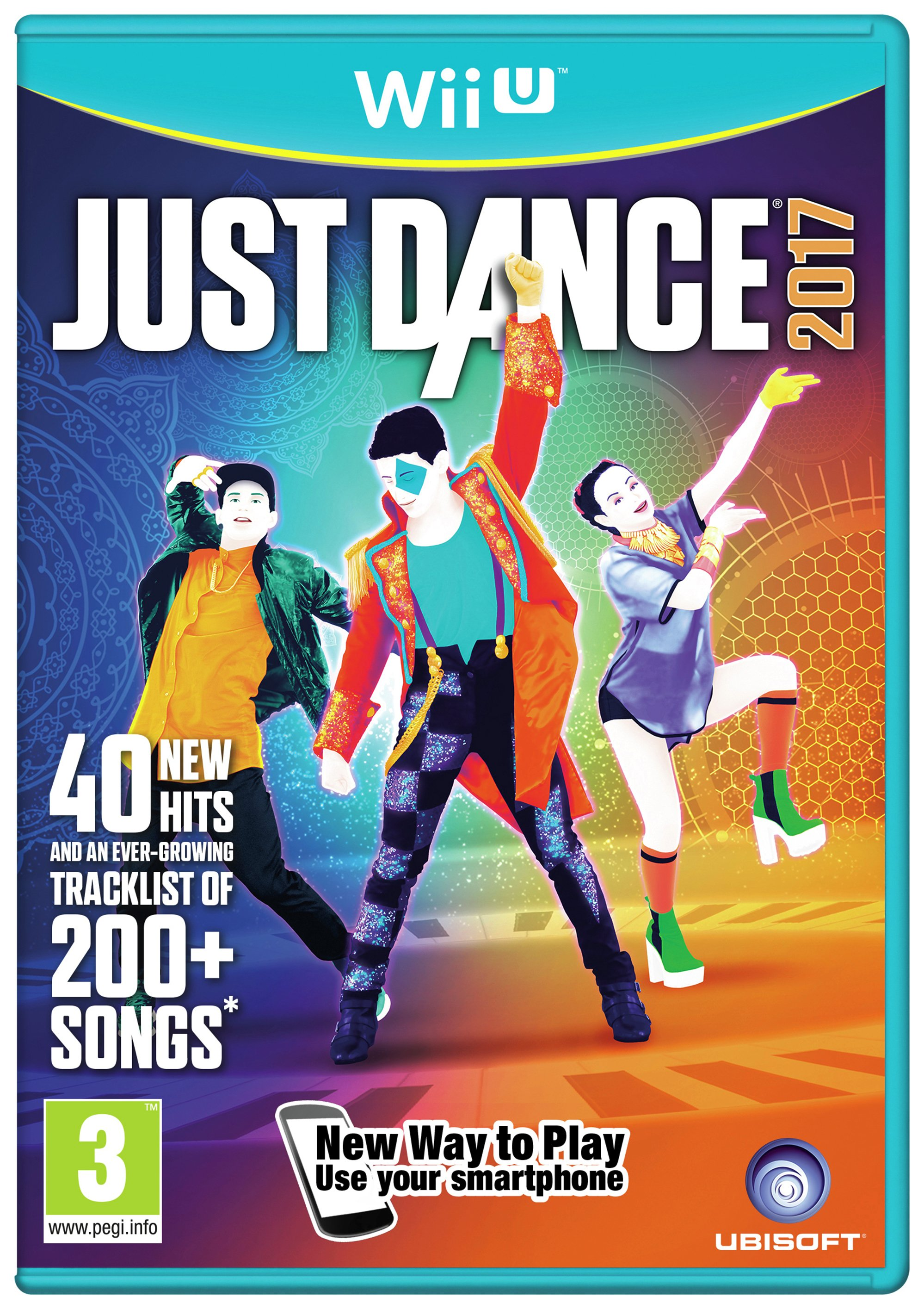 Ubisoft Just Dance 2017 Wii U Game.