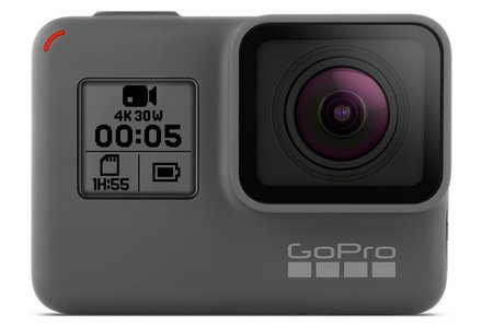 GoPro HERO5 Black 4K LCD Action Cam.