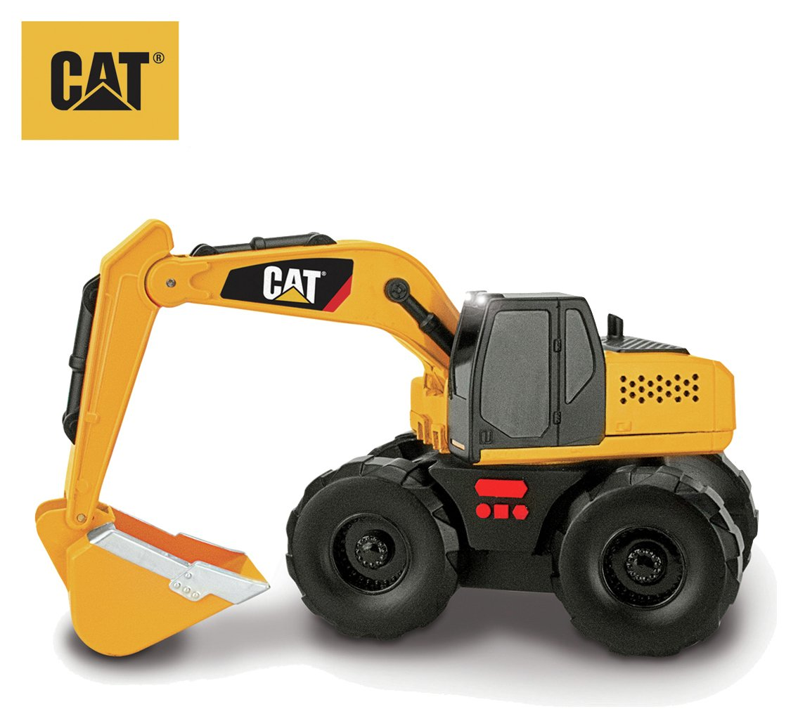 Image of CAT Big Builder - Light and Sound Excavator