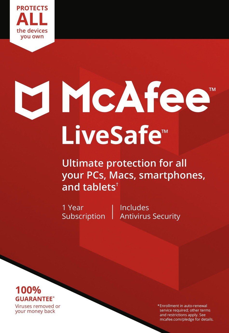 McAfee McAfee - LiveSafe 2017 - Unlimited Device