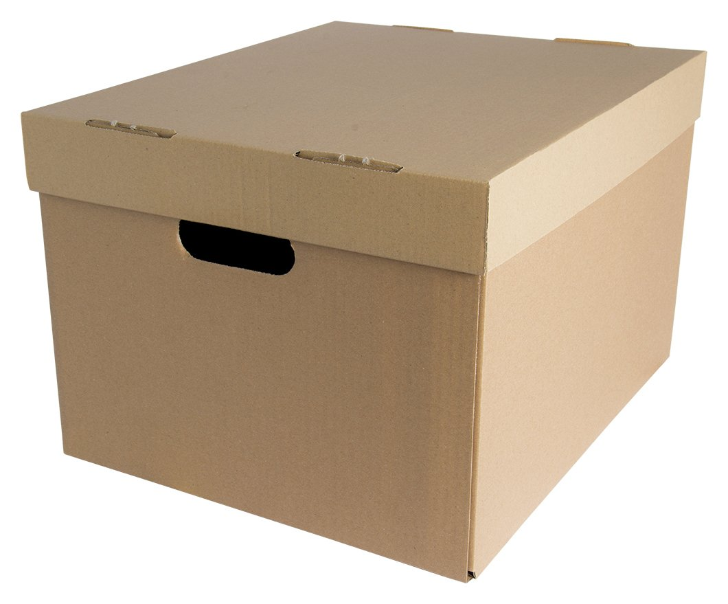 Image of Fellowes Bankers Box Multi Purpose Storage Box - Brown.