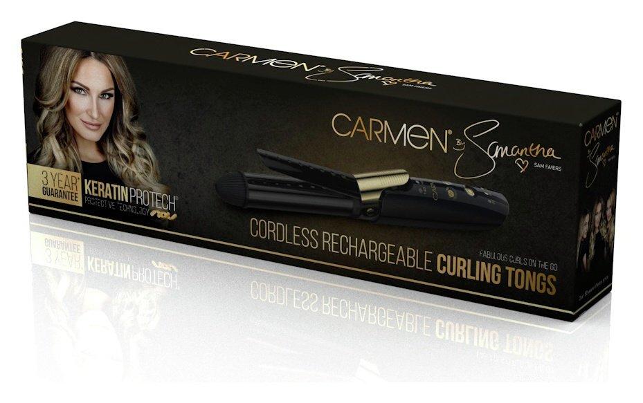 Carmen C81026 Cordless Curling Tong