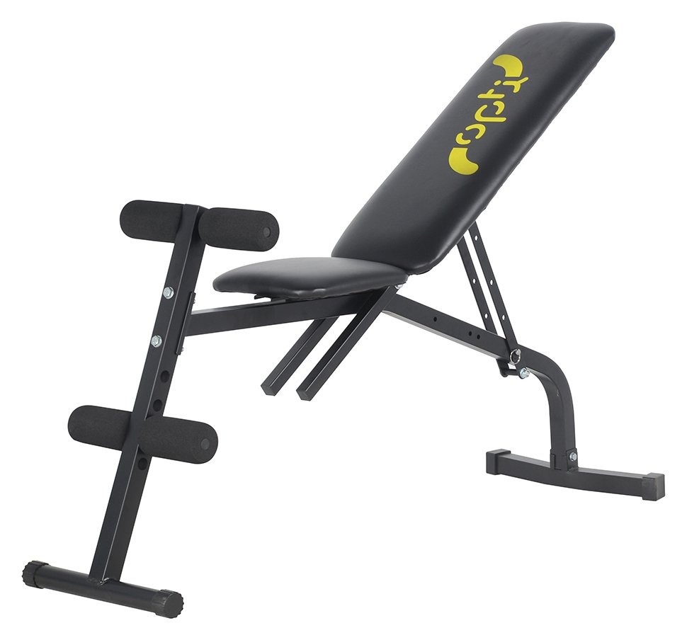 Buy Sit Up Incline Decline Work Bench Situp Dumbbell Bar: Opti Incline & Decline Bench