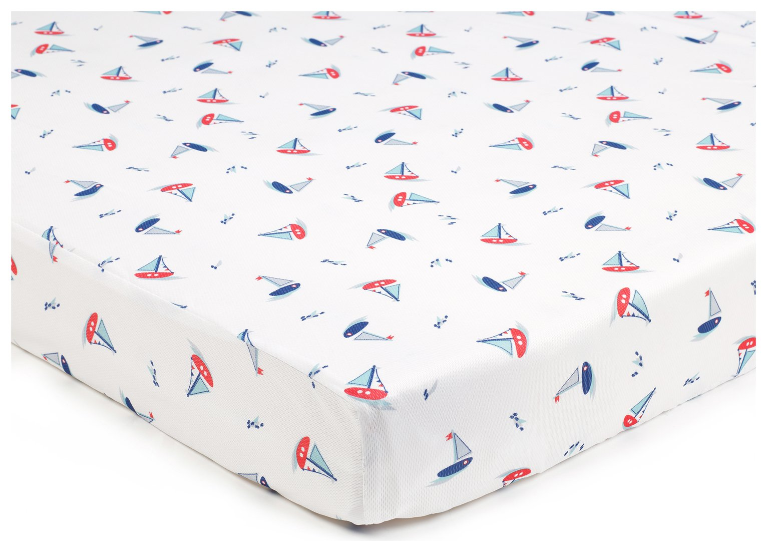 BreathableBaby 2 Cot Sheets - By The Sea