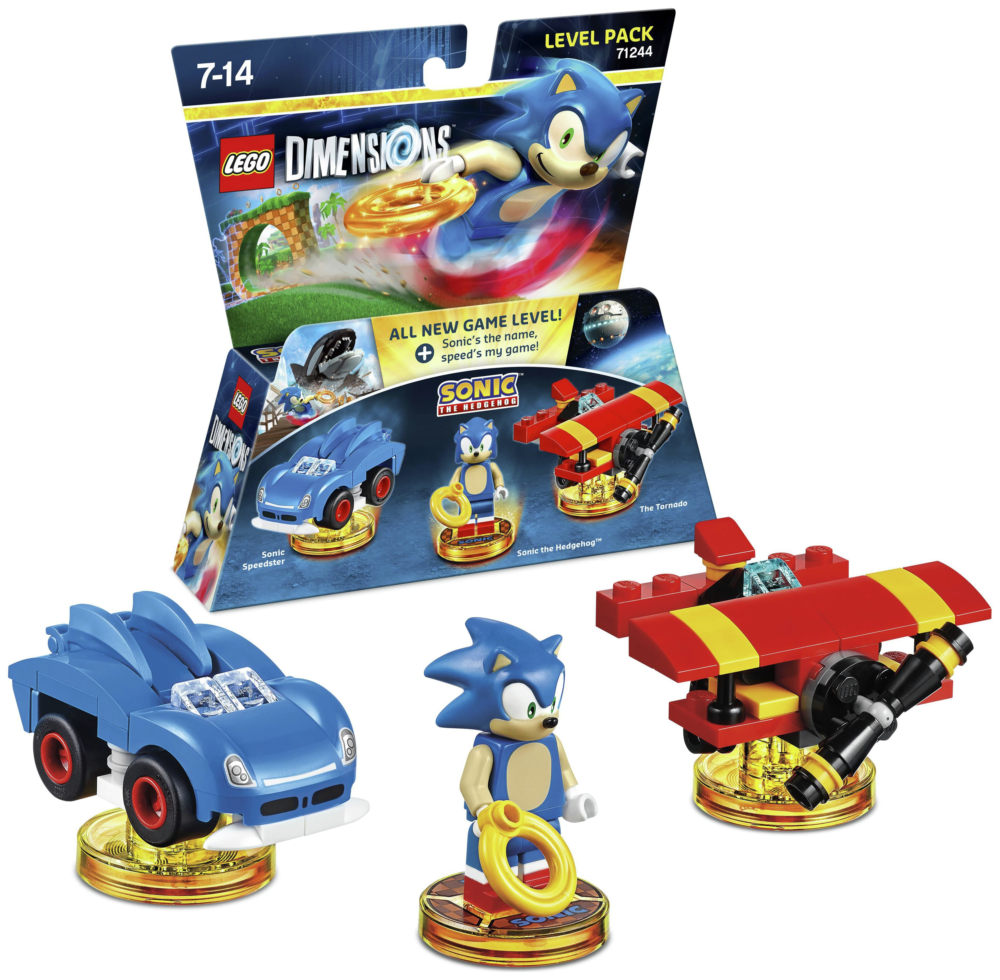 Buy LEGO Dimensions Sonic Level Pack at Argos.co.uk - Your Online ...