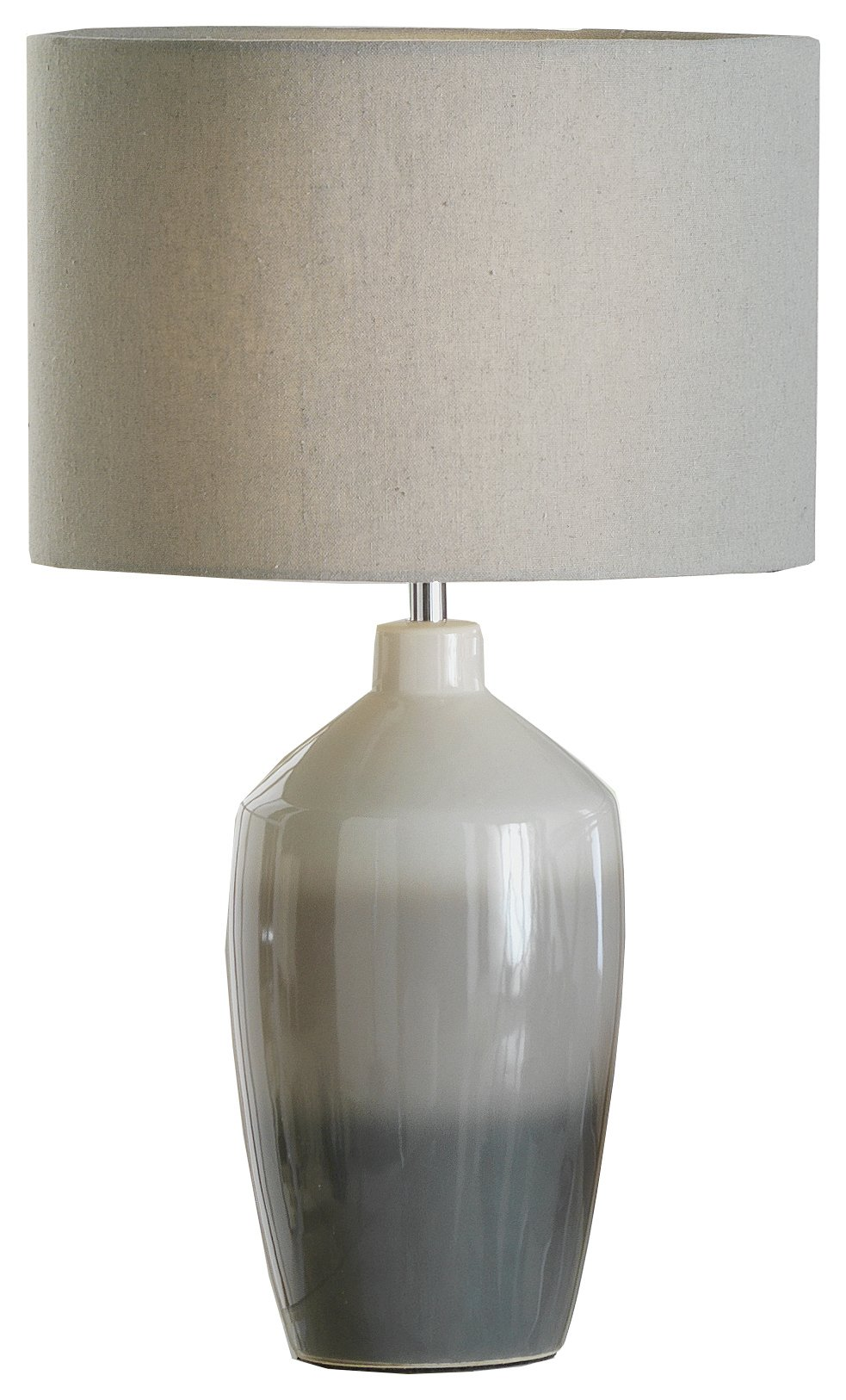 buy heart of house woodley ombre ceramic table lamp - grey | table