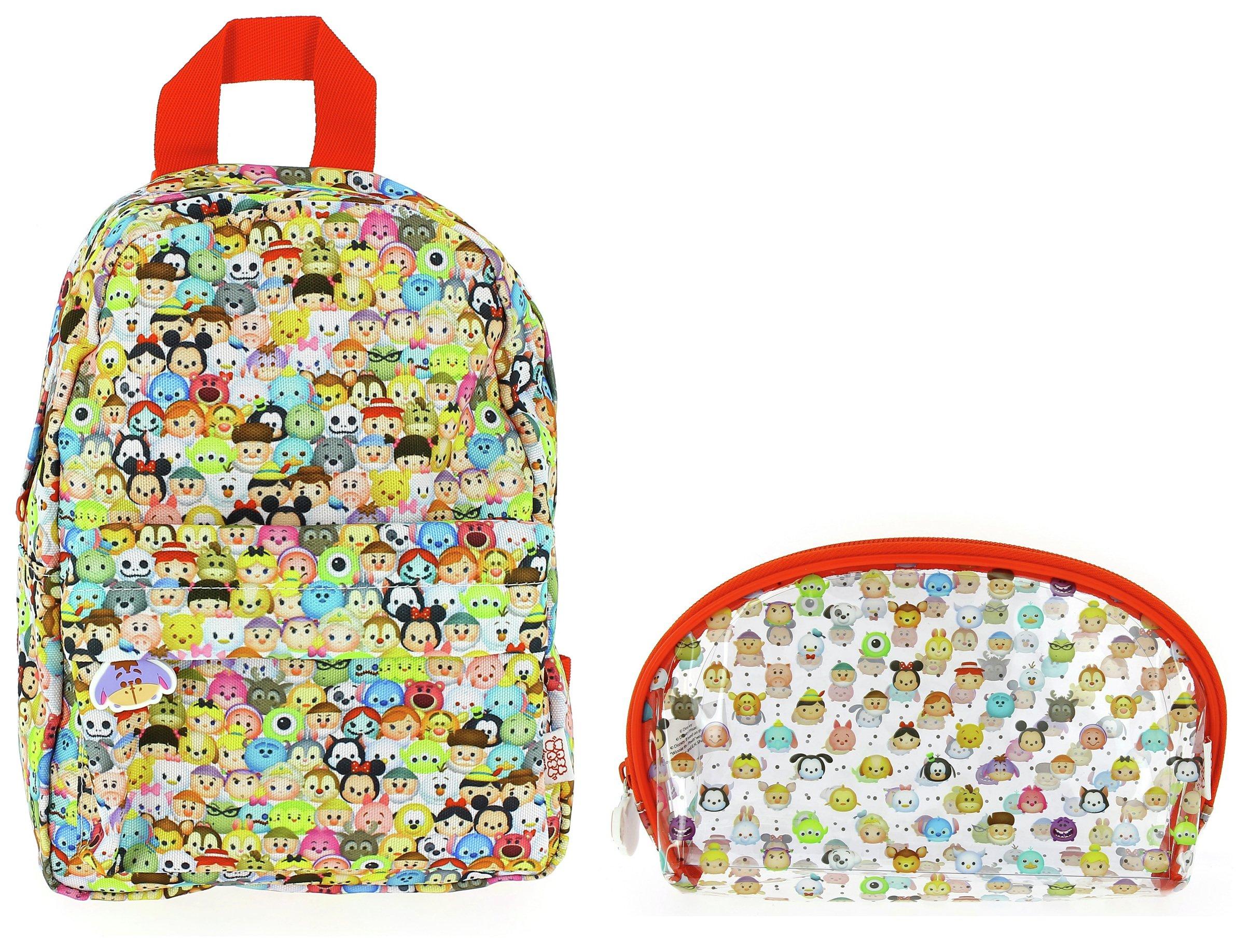 Image of Disney Tsum Tsum Mini Backpack & Pencil Case.