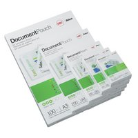GBC Laminating Pouches 2x180 Microns - 50 Pack.