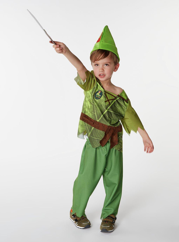 Image of Disney Peter Pan Fancy Dress Costume - 5-6 Years