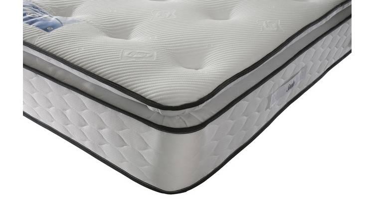check out 9adb6 7e28f Buy Sealy 1400 Pocket Sprung Memory Pillowtop Superking Mattress |  Mattresses | Argos