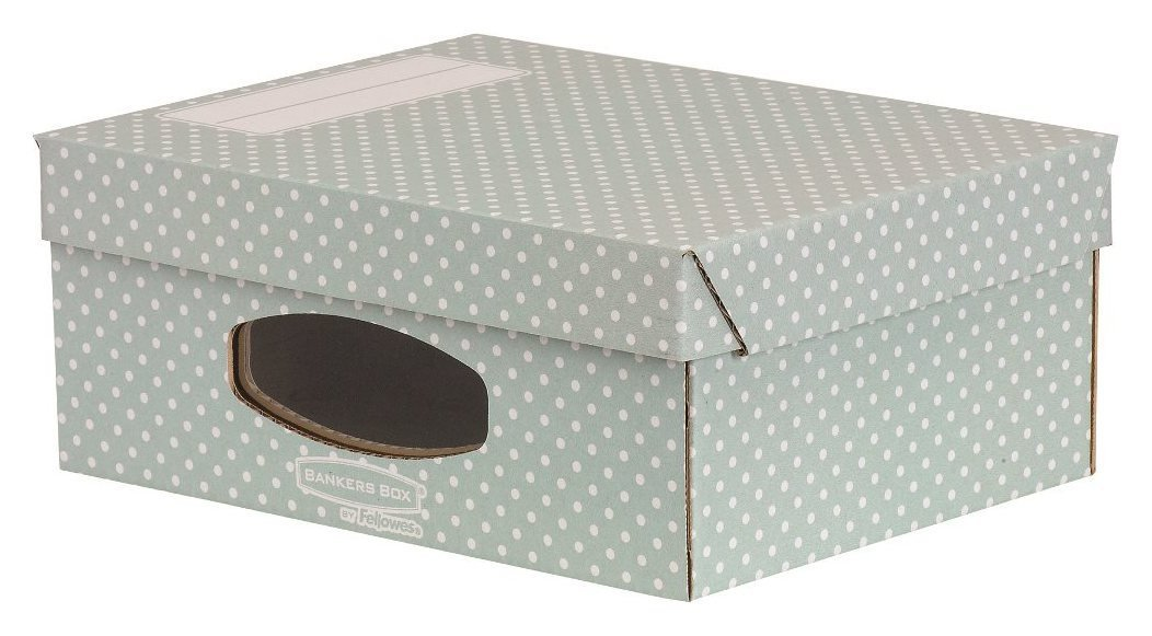 Image of Fellowes Bankers Box Style 4 Pack A4 Window Box - Green.