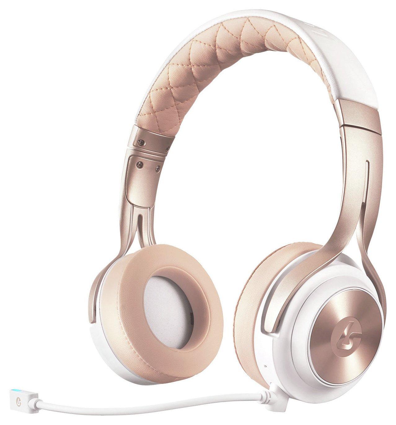 Lucid Sound Lucid Sound LS20 Multiplatform Wired Headset - White Gold.