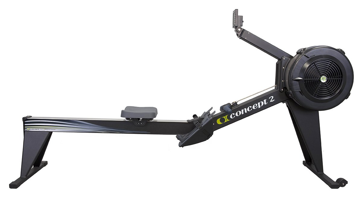 Image of Concept2 Model E Indoor Rower with PM5 Monitor - Black