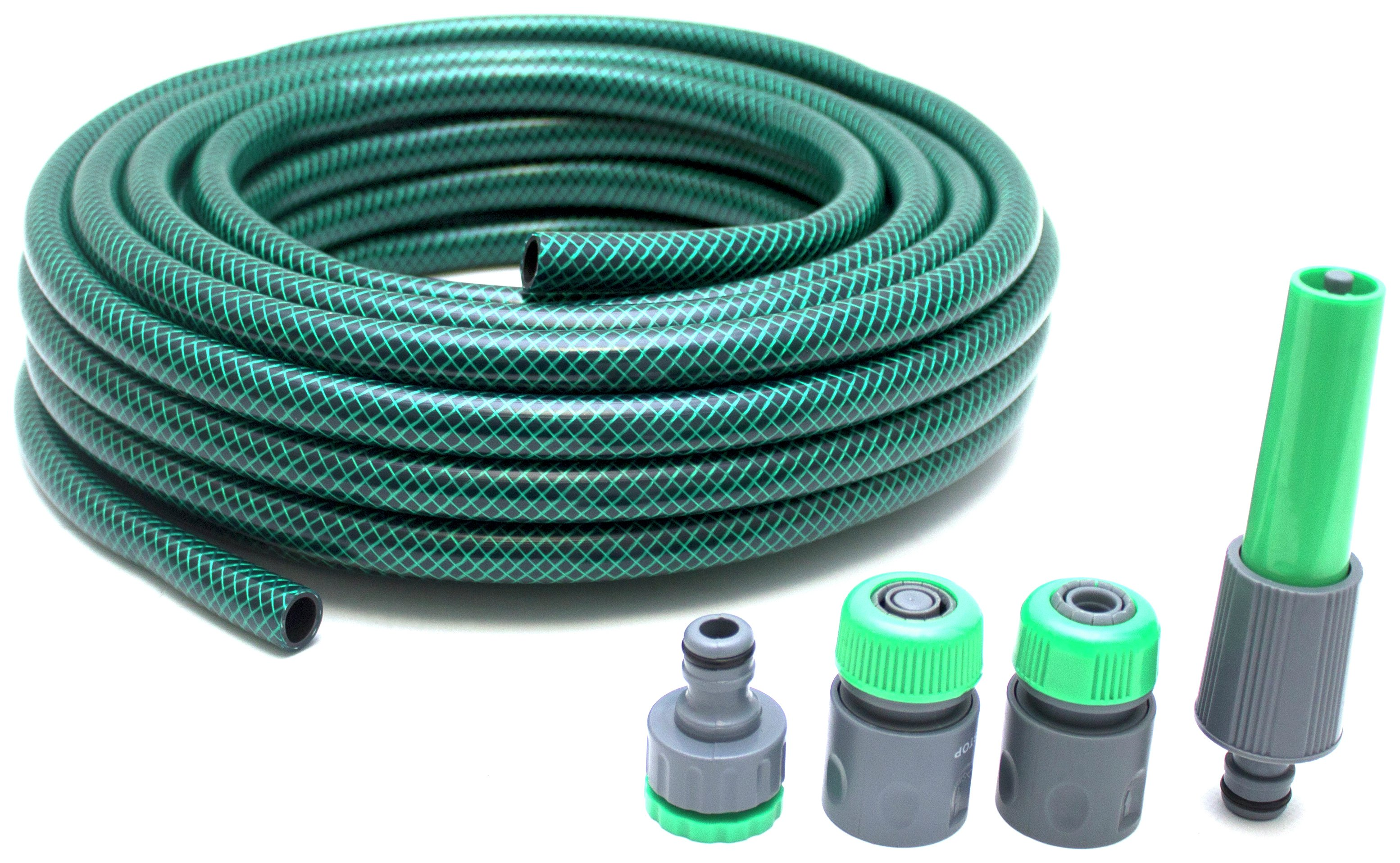 Hose with 4 Connectors - 15m