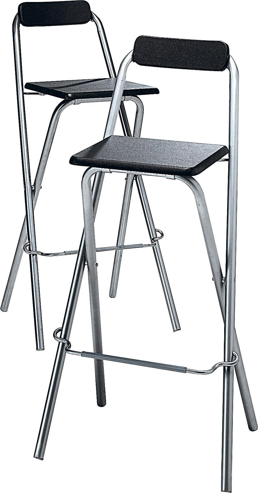 Buy Argos Home Theo Pair Of Folding Bar Stools | Bar Stools | Argos