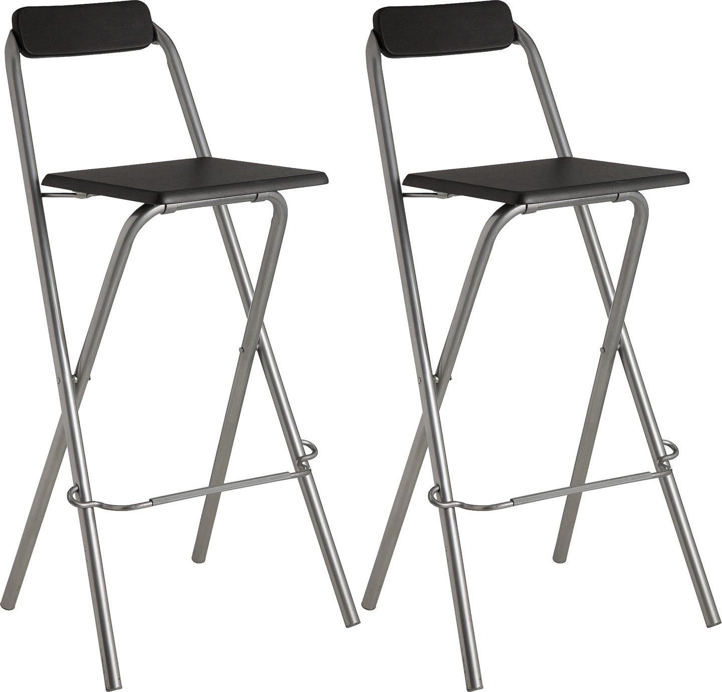 Simple Value Theo Pair Of Folding Bar Stools 6000262 Argos Price Tracker Pricehistory Co Uk