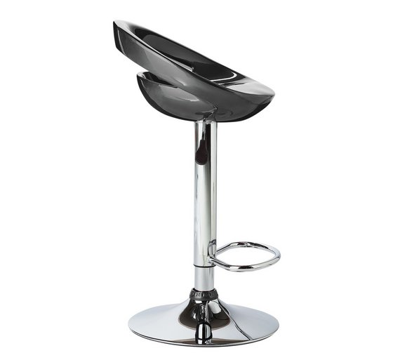 Buy Home Ottawa Gas Lift Bar Stool Black At Your Online Shop For Bar Stools And