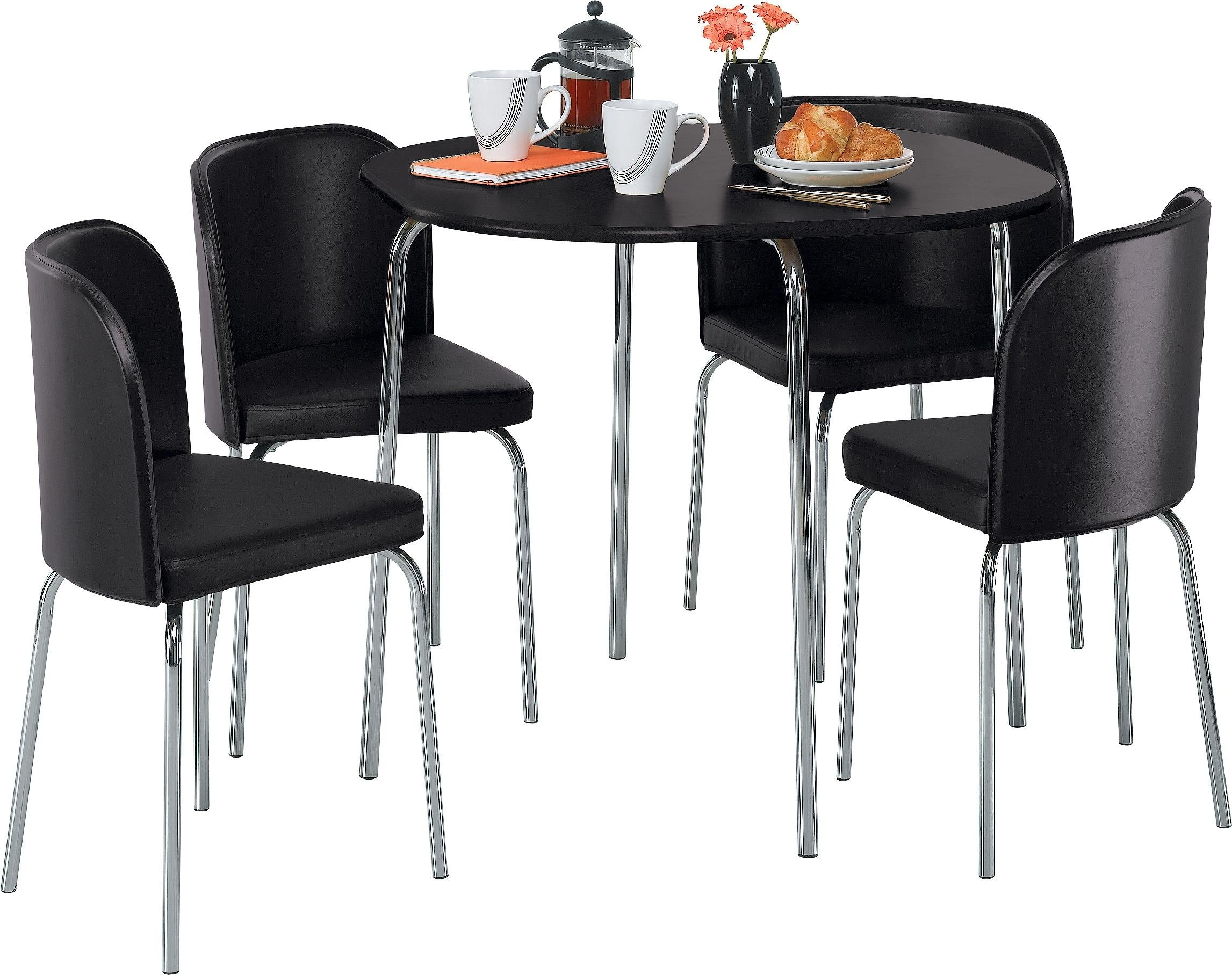 Buy Hygena Amparo Dining Table and 4 Chairs Black at  : 6001443RZ001AUC1154176Webampw570amph513 from www.argos.co.uk size 570 x 513 jpeg 32kB