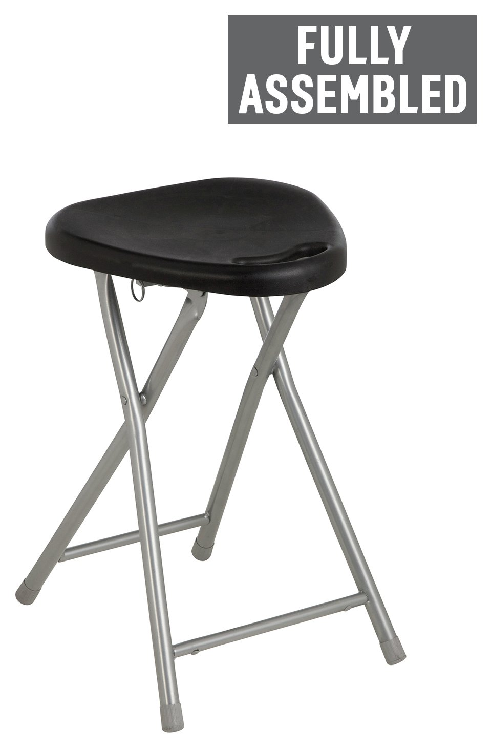 Buy Simple Value Folding Single Stool Black at Argosco  : 6003575RZ001AWebampw570amph513 from www.argos.co.uk size 570 x 513 jpeg 17kB