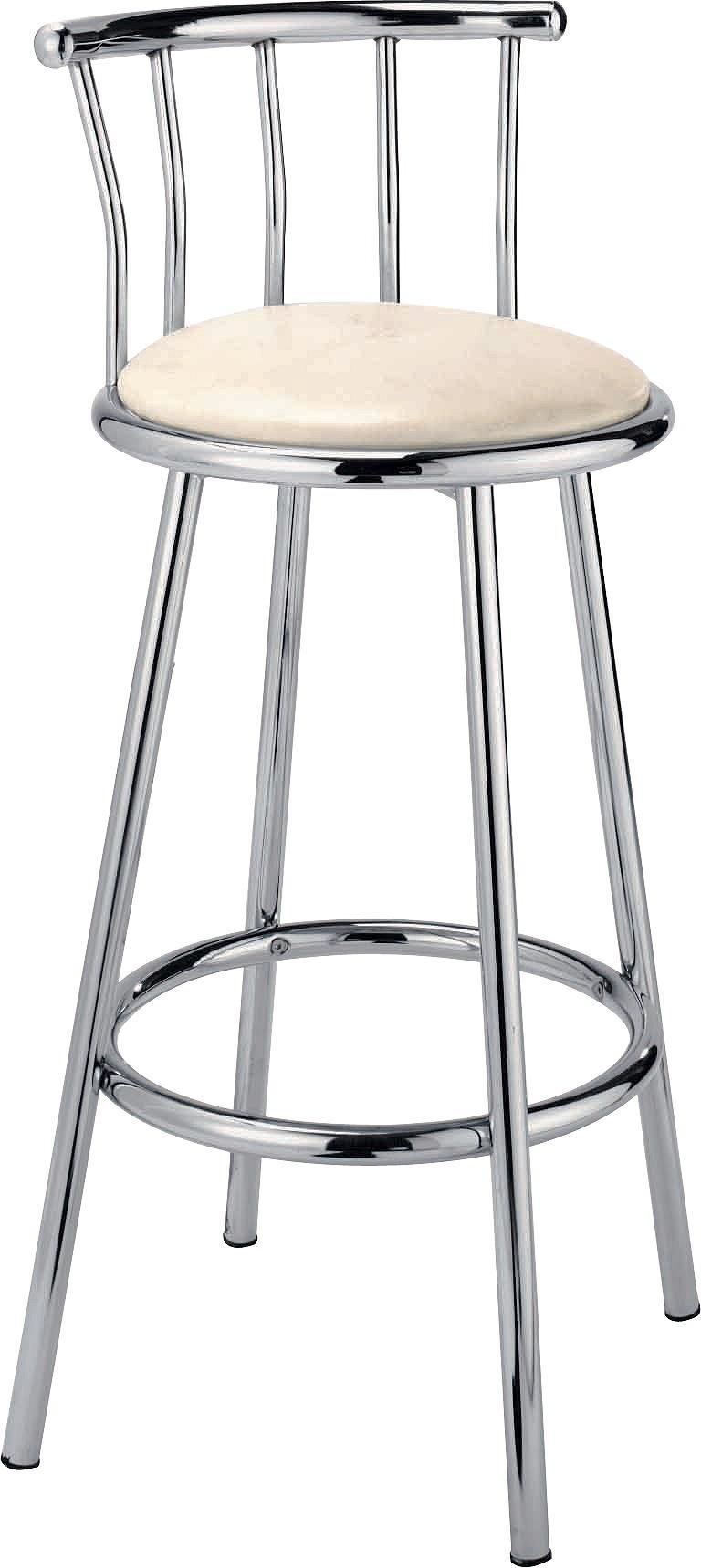 Buy HOME Gemini Cream Leather Effect Bar Stool at Argosco  : 6005054RZ001Webampw570amph513 from www.argos.co.uk size 570 x 513 jpeg 17kB
